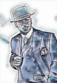 Cool Blue Al Jarreau by Pd