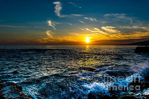 Cool blue sunset by Gregory Lee Schaffer