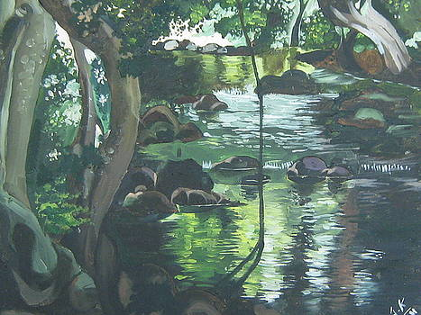 Cool Landscape by Akhilkrishna Jayanth