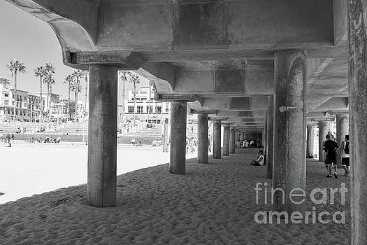 Cool Off in The Shade of The Pier by Ana V Ramirez