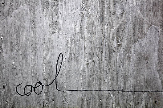 Cool on White Washed Plywood by Patrick Jennings