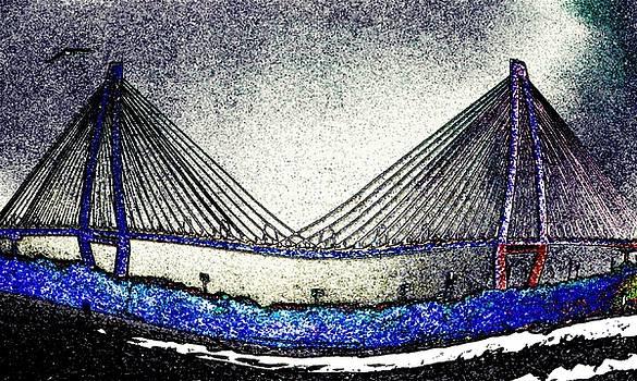 Cooper River Bridge by Leslie Revels