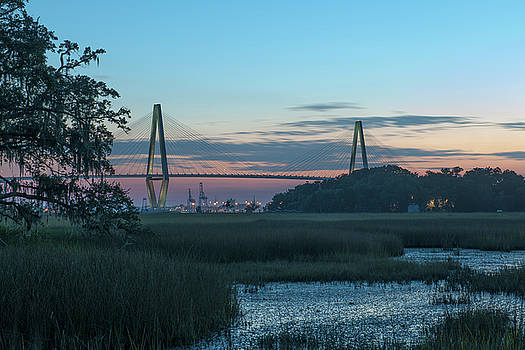 Dale Powell - Cooper River Bridge Marsh View