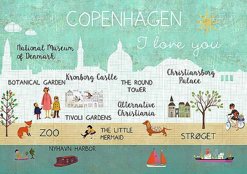 Copenhagen I love you by Claudia Schoen