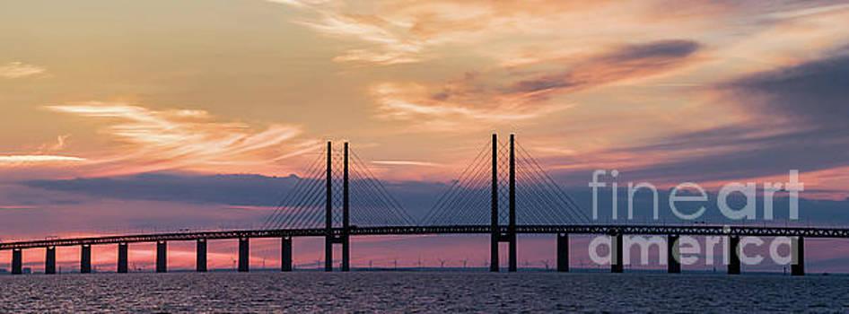 Copenhagen - Malmo Bridge by Vyacheslav Isaev