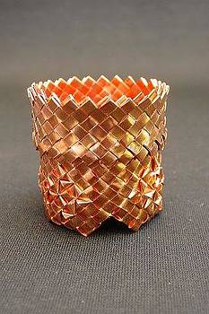 Copper Basket by Judith Saunder