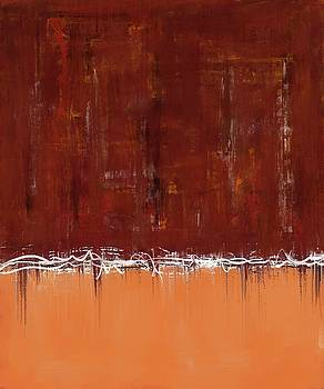 Copper Field Abstract Painting by Eduardo Tavares