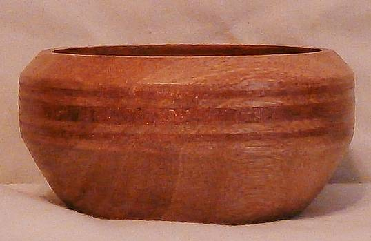 Copper Inlayed Bowl by Russell Ellingsworth