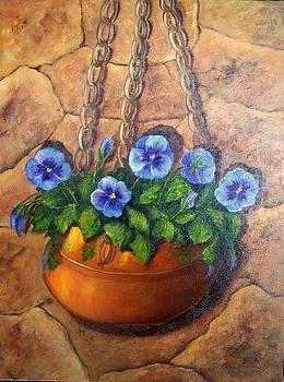 Copper Jardinier by Susan Dehlinger