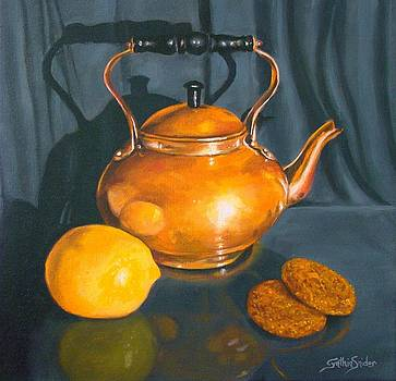 Copper Kettle by Cynthia Snider