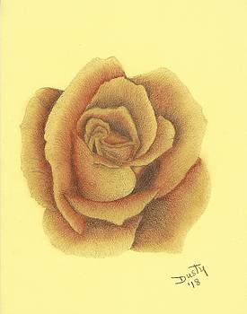Copper Kettle Rose by Dusty Reed