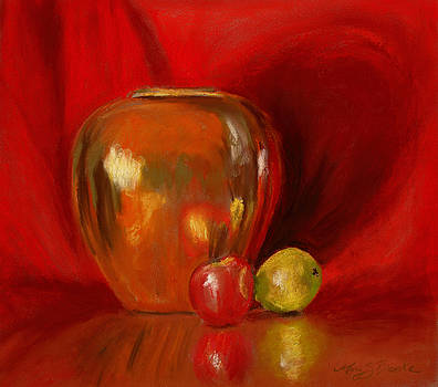 Mary Benke - Copper Pot and Fruit