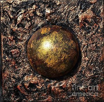 Copper spere by P Dwain Morris
