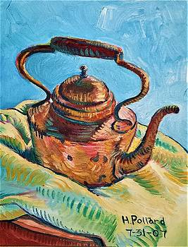 Copper Teapot by Herschel Pollard