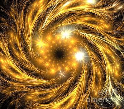 Copper Wish Spiral by Kim Sy Ok