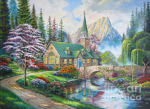 copy of Dogwood Chapel by Elena Yalcin