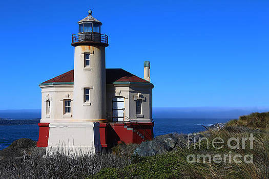 Coquille River Lighthouse by Marty Fancy