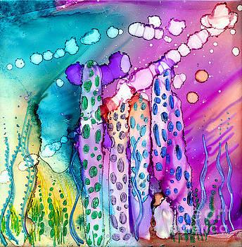 Coral Columns by Alene Sirott-Cope