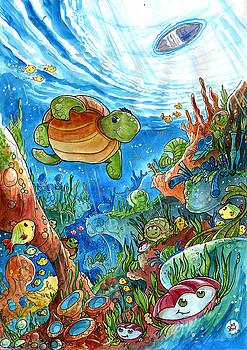 Coral Dreams by Luis Peres