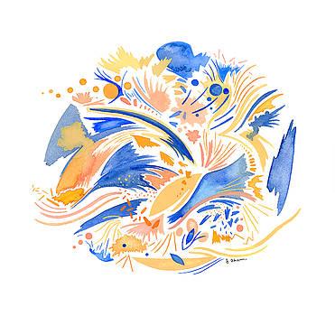 Coral Sky by Jennifer Ahern