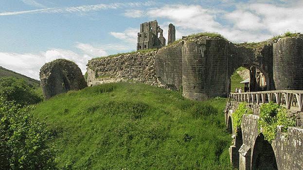 Corfe Castle by Maria Joy