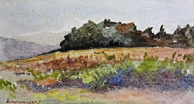 Corfu Landscape by George Siaba