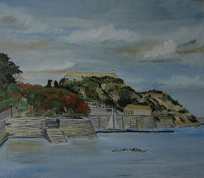 Corfu - old fort by Anna Witkowska