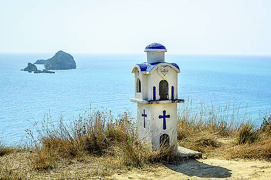 Corfu - Roadside Shrine by Alexander Kunz