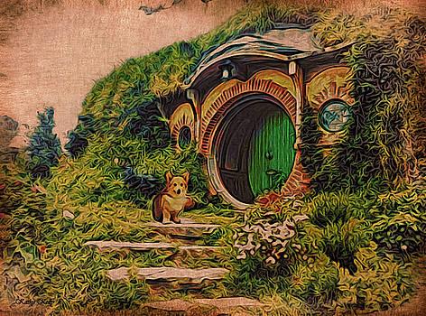 Kathy Kelly - Corgi at Hobbiton