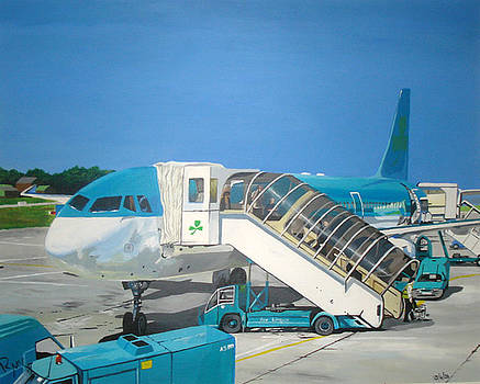 Cork airport by Rick McGroarty