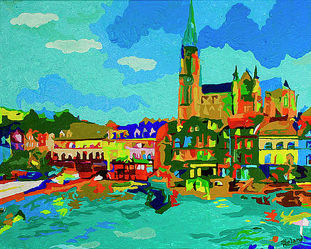 Cork In Color by Tracy Dupuis Roland by Tracy Roland