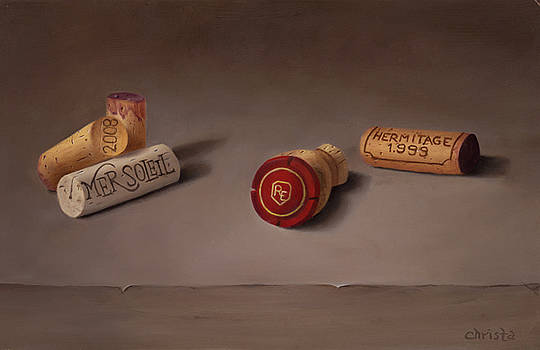 Corks by Christa Eppinghaus