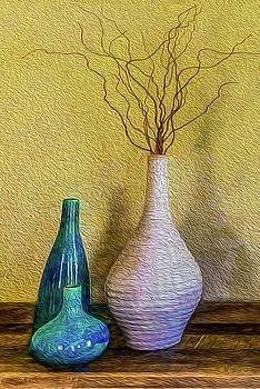 Corkscrew Willows by Paul Wear
