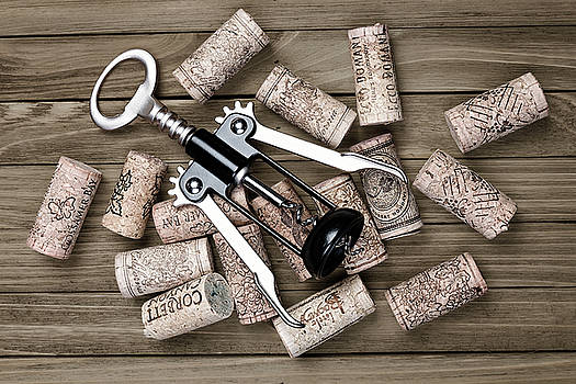 Tom Mc Nemar - Corkscrew with Wine Corks