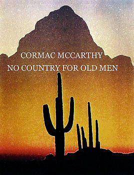 Cormac McCarthy Poster  by Paul Sutcliffe