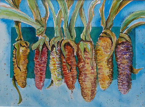 Corn Row  by Christine Peterson