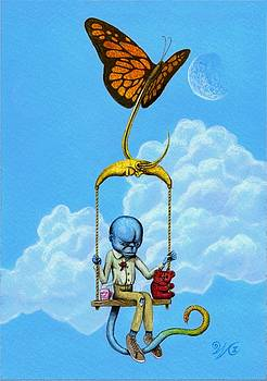 Cornelius' flight by Will Crane