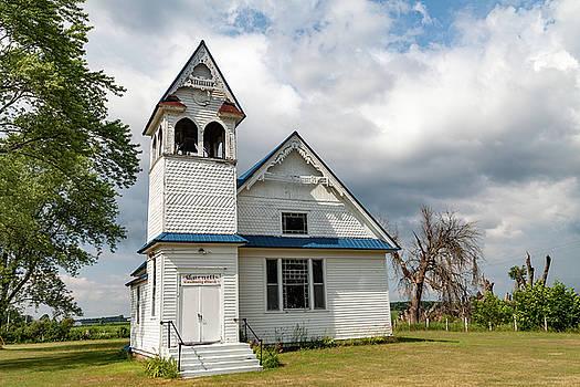 Cornell Community Church by Fran Riley