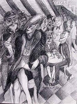 Corner Cafe Woman by Barbara Yalof