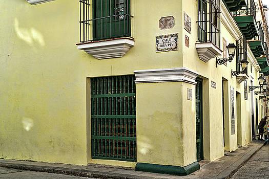 Sharon Popek - Corner of Calle de la Obra Pia and Oficios