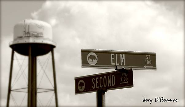 Corner of Elm and Second Conway South Carolina by Joey OConnor