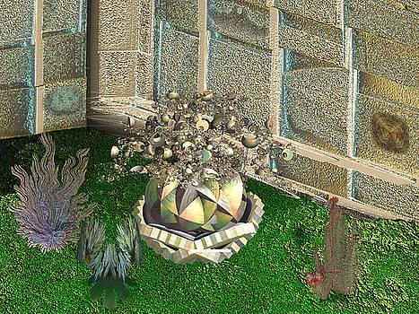 Corner of the Garden by Bad Monkey