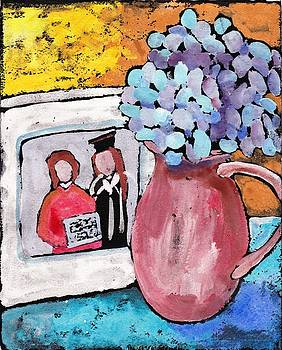 Corner Table by Ruth Kamenev