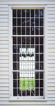 Cornfield Through Church Windows by Guy Whiteley
