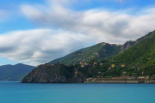 Corniglia Cinque Terre Italy by Brad Scott