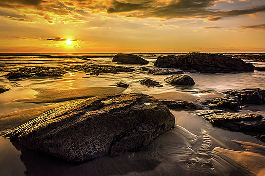 Cornish Sunset by Nick Bywater