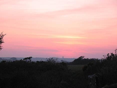 Cornish Sunset by Tony Payne