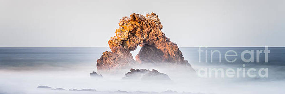 Paul Velgos - Corona Del Mar Arch Rock Panorama Photo
