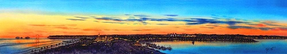 Coronado and San Diego, The Finest City by John YATO