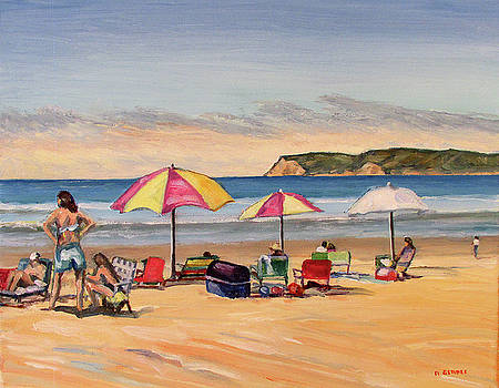 Coronado Beach Summer by Robert Gerdes